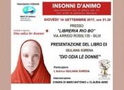 """Silvi: Giuliana Sgrena presenta """"Dio odia le donne"""""""