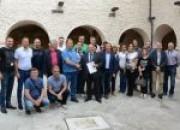 Delegazione serba in visita al Parco del Gran Sasso e Monti della Laga