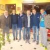 """""""Festa del cross"""": i dirigenti dell'Atletica Vomano incontrano Stefano Baldini"""