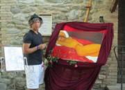 Montorio: il pittore Paolo Foglia dona una sua opera alla Biblioteca del Ricordo