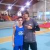 Simone Di Fino giovane cadetto dell'Atletica Vomano migliora di 14 cm nel salto in alto