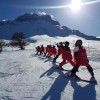 Prati di Tivo: iniziati i corsi della scuola sci per i piccoli studenti teramani