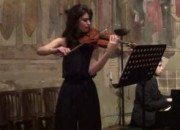 San Salvatore a Canzano: appuntamento con i Concerti delle Abbazie con la violinista Irenè Fiorito