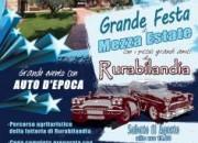 Festa di mezza estate a Rurabilandia per il Club Automoto Storiche di Teramo