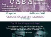 Cesare Malfatti e Luca Lezziero in concerto a Campogrande di Castellalto
