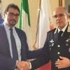 Teramo: ricevuto in municipio il nuovo comandante della Legione Carabinieri Abruzzo e Molise