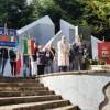 Il Sindaco di Teramo Gianguido D'Alberto alla commemorazione della battaglia di Bosco Martese