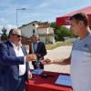 Ricostruzione, Mazzocca alla consegna delle restanti 10 casette Sae a Montorio al Vomano