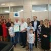 Riconoscimento ad una famiglia tedesca che sceglie Pineto da 40 anni per le vacanze