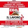 Teramo: il 22 e 23 ottobre presso il Campus dell'Università Teramo si svolgerà il IX Congresso provinciale della Cgil di Teramo