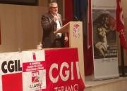 Giovanni Timoteo confermato Segretario provinciale della Cgil