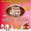 Babbo Natale torna a Castel Castagna che gli conferisce la cittadinanza onoraria