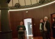 Teramo: visita del Sindaco all'Osservatorio di Collurania