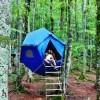 Colledara: una Cooperativa per gestire il campeggio sospeso a impatto zero nella Riserva Fiume Fiumetto