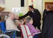 Teramo: il sindaco in visita alla casa di riposo De Benedictis