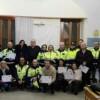 Giulianova: consegnati gli attestati di partecipazione al 15° corso base per volontari della Protezione Civile