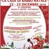 Oggi e domani la Casa di Babbo Natale a Notaresco