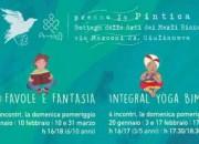 """Giulianova: """"Favole, Fantasia e corsi di Yoga"""": letture, laboratori creativi e lezioni di yoga per bambini"""